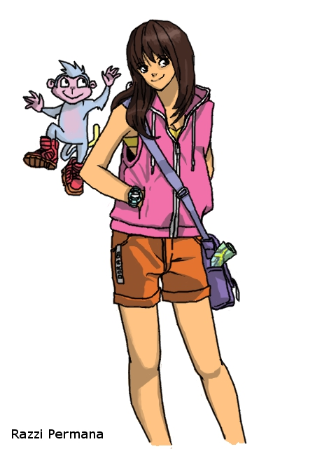Dora The Explorer by RazPerm on DeviantArt