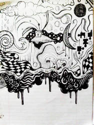 black and white by jesseekahh