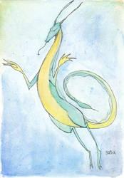 Water Dragon by sagix