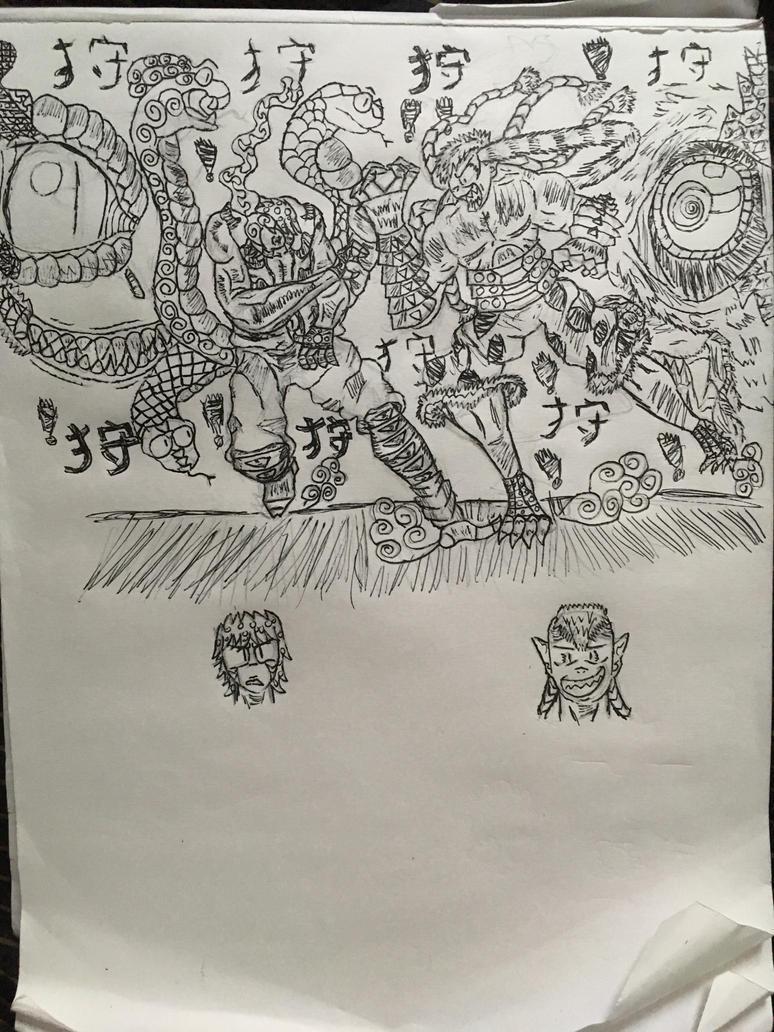 Battle by psyintrovert2