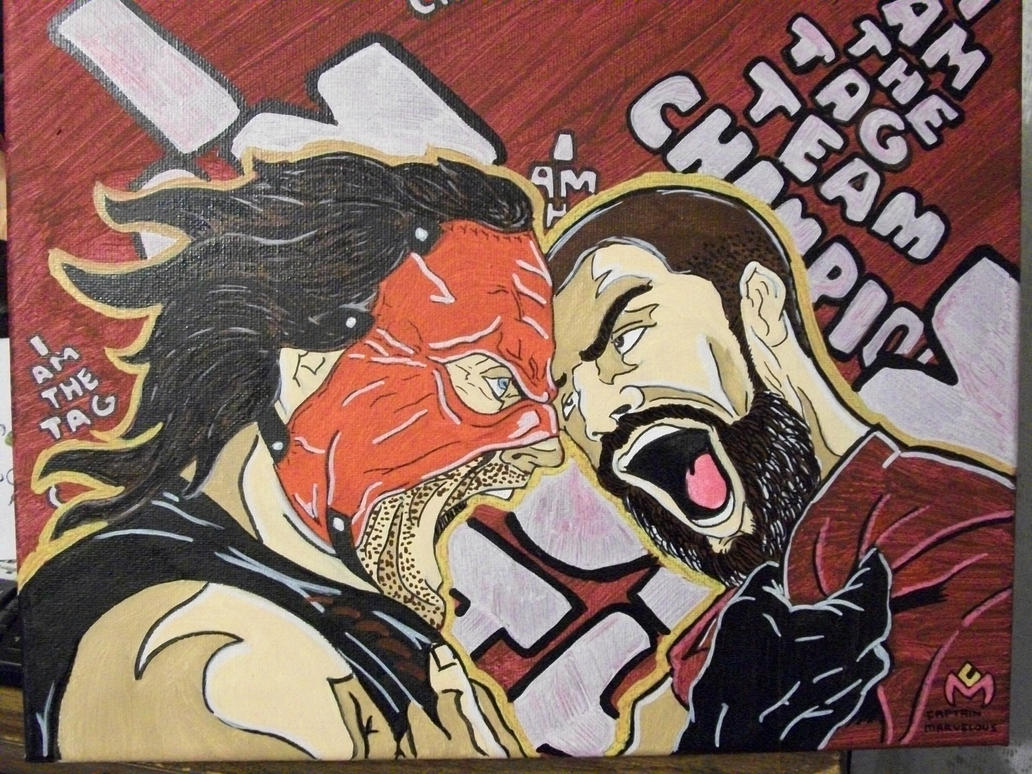 Hell No: Team Hell No By CaptainMarvelous On DeviantArt