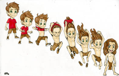 Kid-Tarzan 2 by artman7391