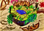 Floating Garden by artman7391