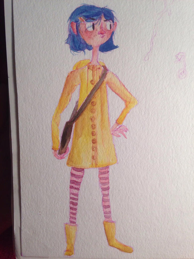 Watching coraline by secondaryfetus