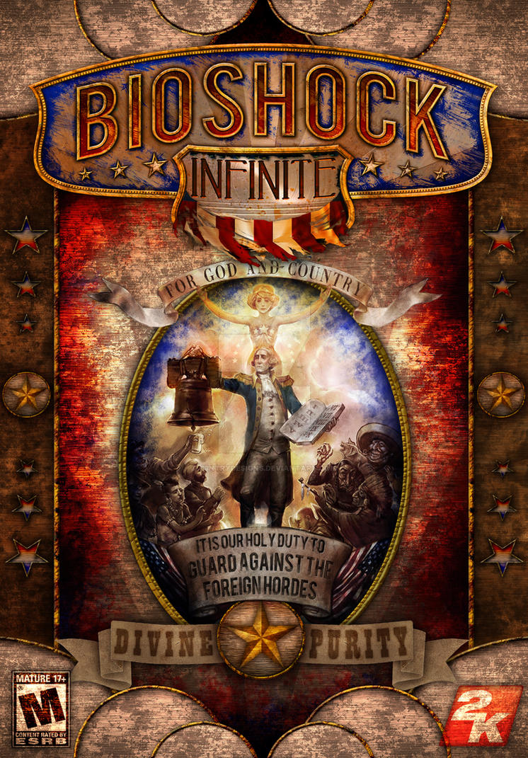 BioShock Infinite Cover Design by S3NTRYdesigns