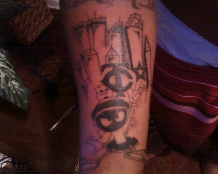 m martian twin city tattoo by liloneon952 on deviantart