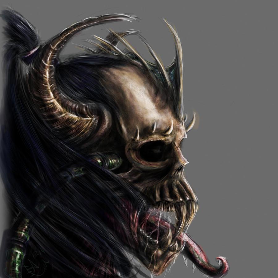 demon skull wallpaper - photo #34
