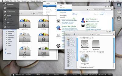 Mac alike desktop