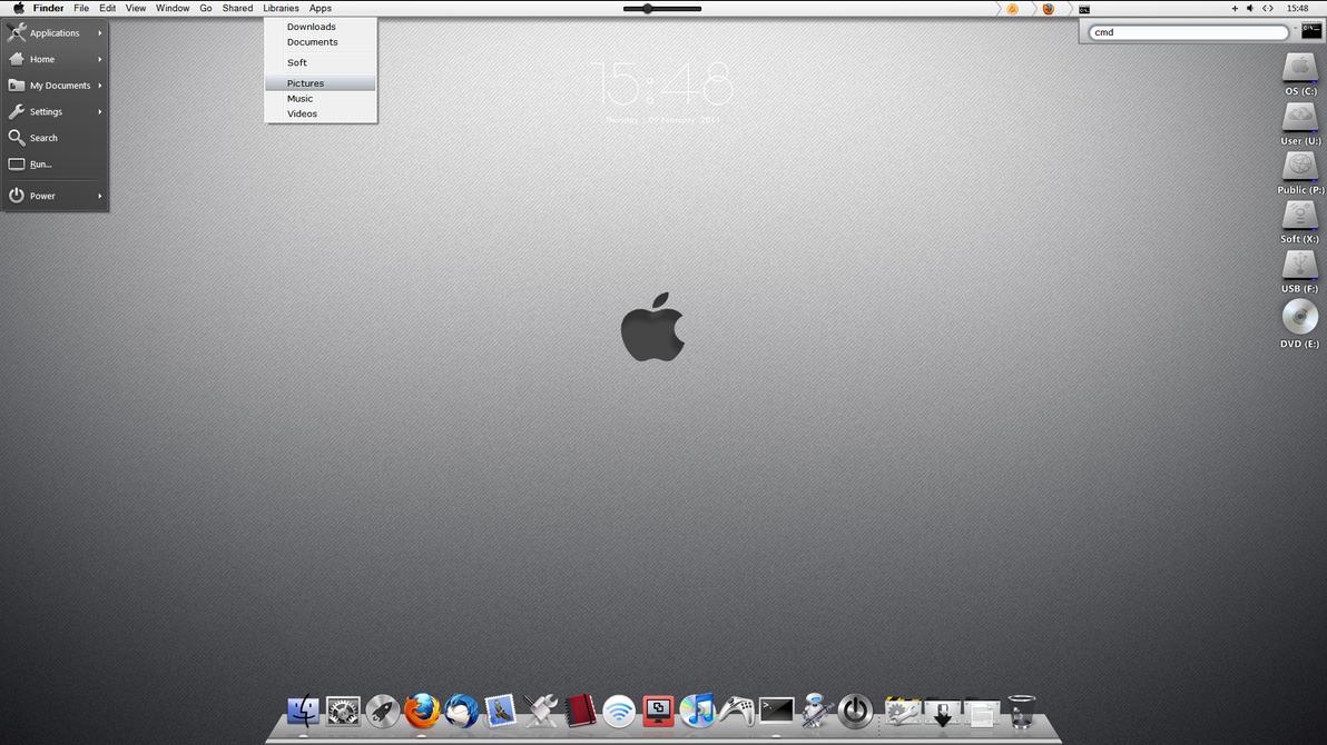 SoGrey Desktop by Sosat