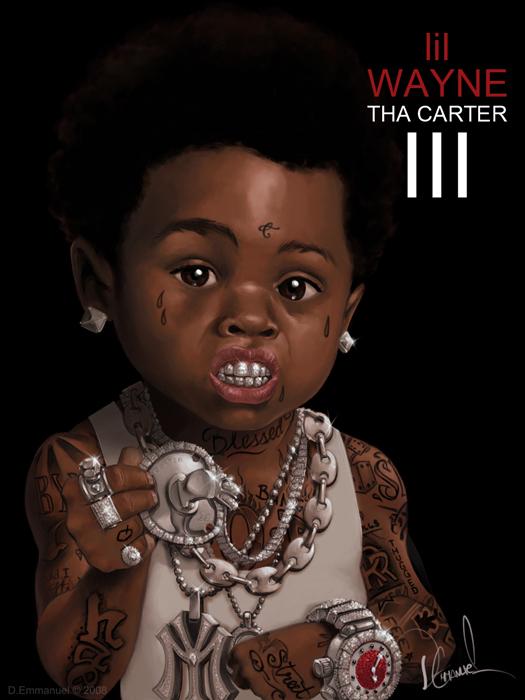 Lil' lil Wayne THA CARTER III by demmanuel