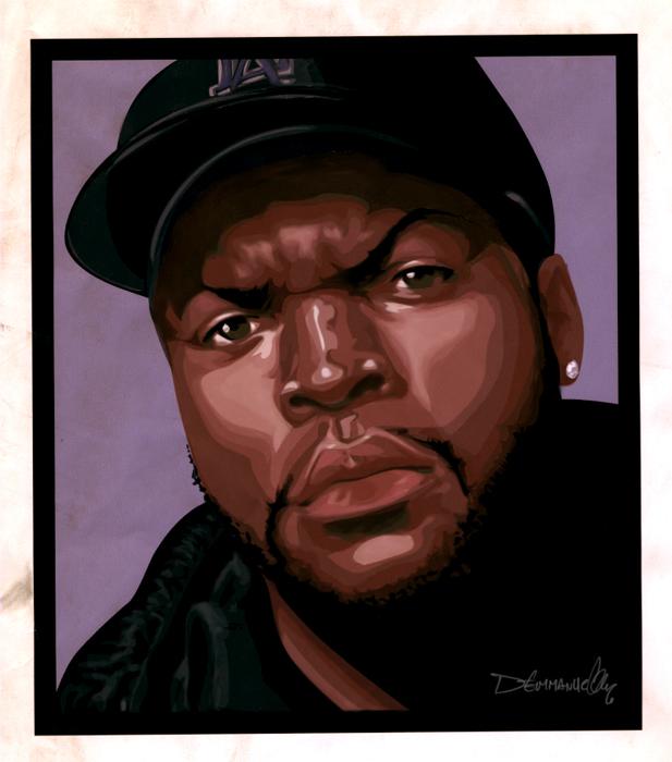 Ice Cube by demmanuel