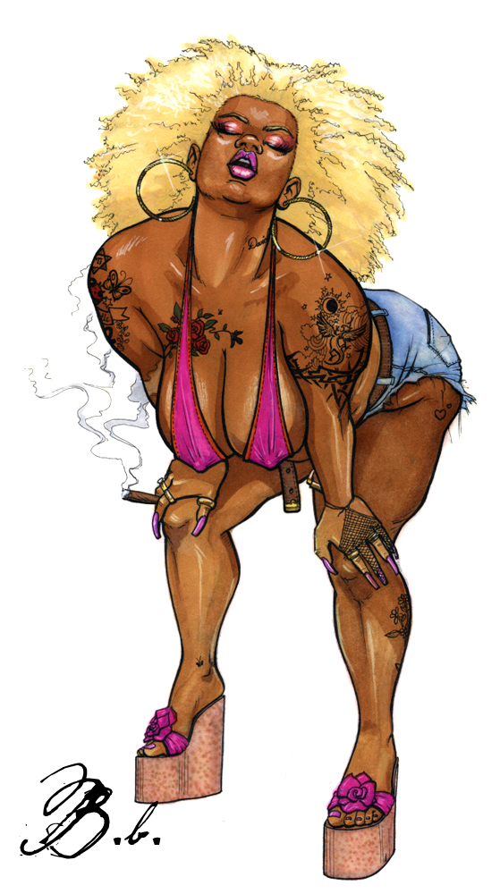 Tatted smoker by demmanuel