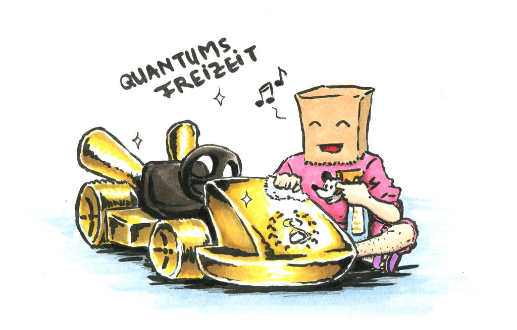 Quantums Gold Kart by Didip