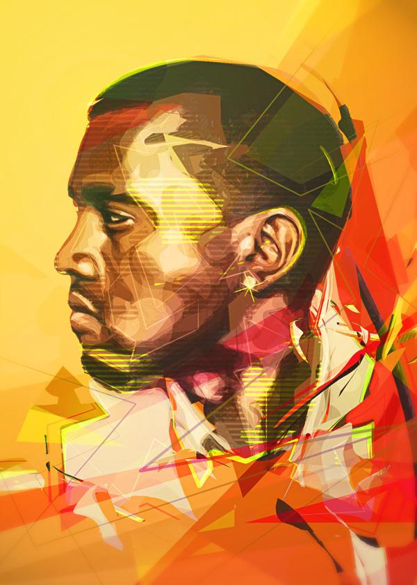 Kanye West by eigenI