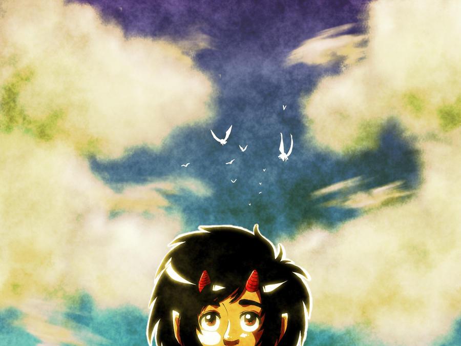 Summer Sky by Keed-Kat