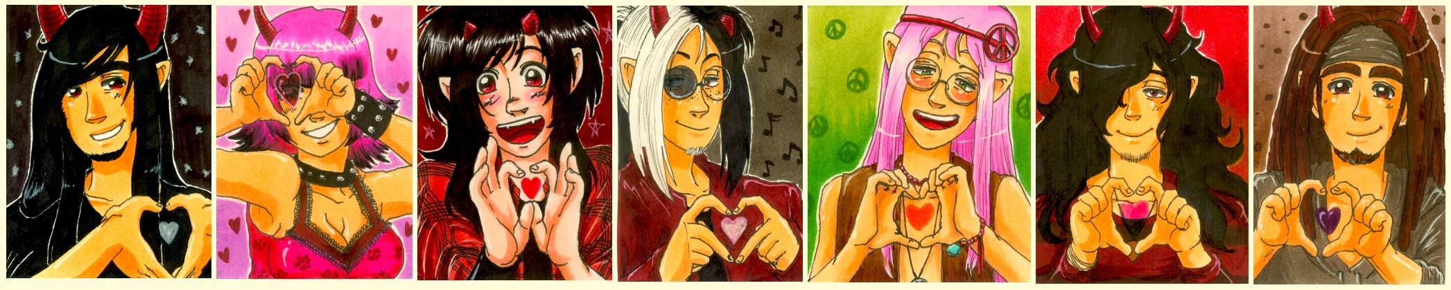 Sweetest Poison -hearts- by Keed-Kat