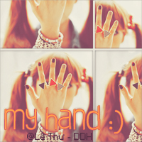 My hand :) by shiningday