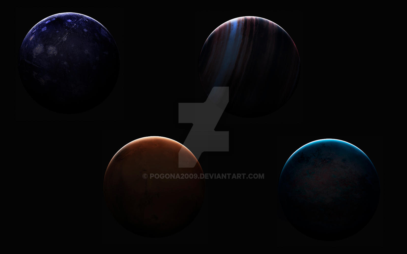 Awesome planets by pogona2009