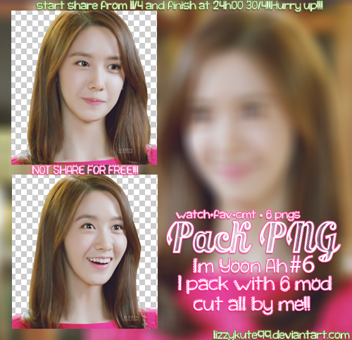 PACK PNG#6 - Im Yoon Ah - all by me - free sharing by lizzykute99