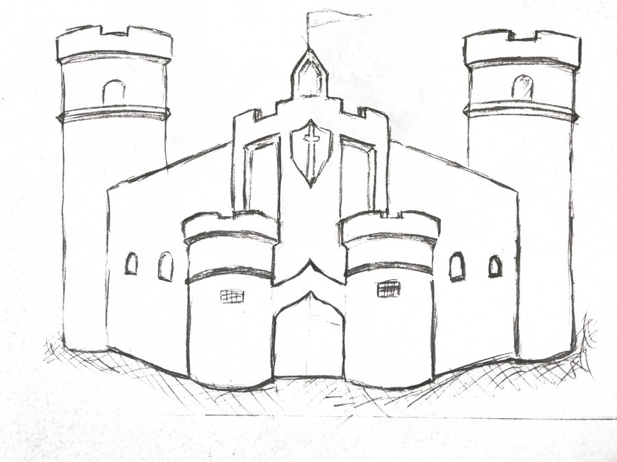 Sketch Castle. by laimonas171