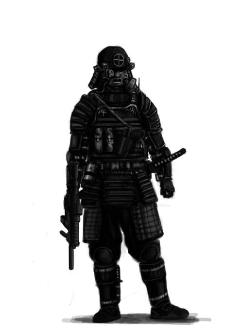 Modern Samurai by Artie259 on DeviantArt