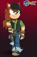 James Bristol in Sonic X by Domestic-hedgehog by EmeraldThunderComics