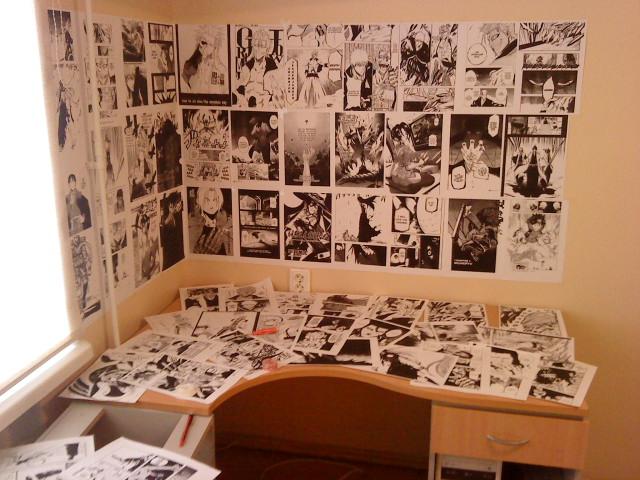 Manga Wallpaper Room By Auskaa On Deviantart
