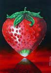 Bloody strawberry