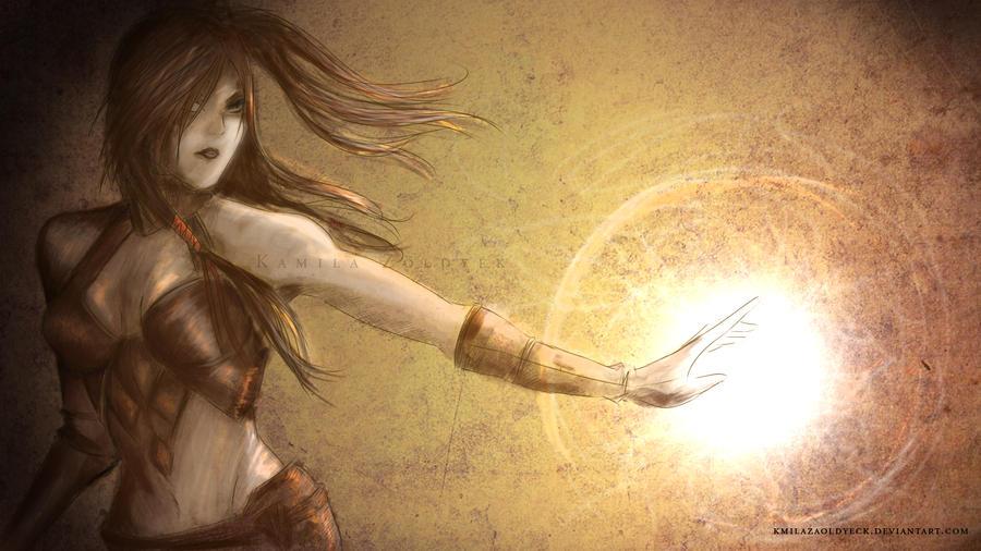Diablo III Wizard by KmilaZaoldyeck