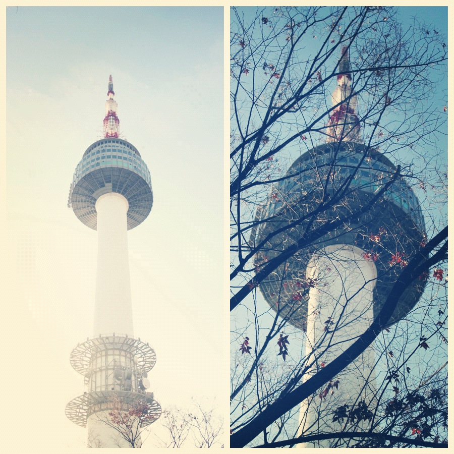 how to get to namsan tower