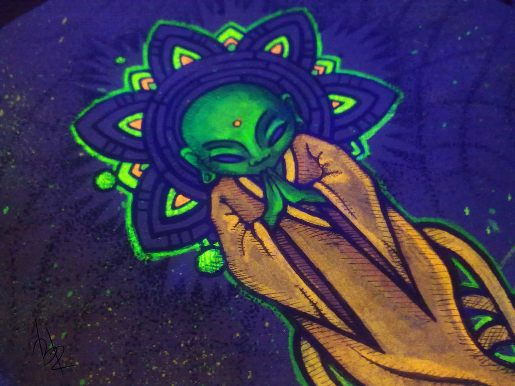 art aliens psychedelic - photo #1