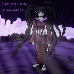 The Queen of Shadows by BizarreSheep