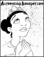 princess tiana by WILLEYWORKS