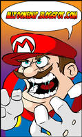 MARIO RAGE by WILLEYWORKS