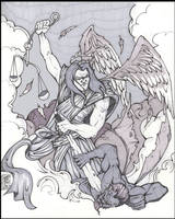 ARCHANGEL MICHAEL by WILLEYWORKS
