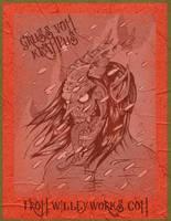 GRUSS VOM KRAMPUS by WILLEYWORKS