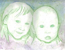 doodle deuce green by WILLEYWORKS