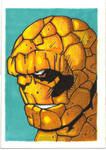 THE THING SKETCH CARD