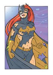 Ravaged Batgirl Color2 by WILLEYWORKS