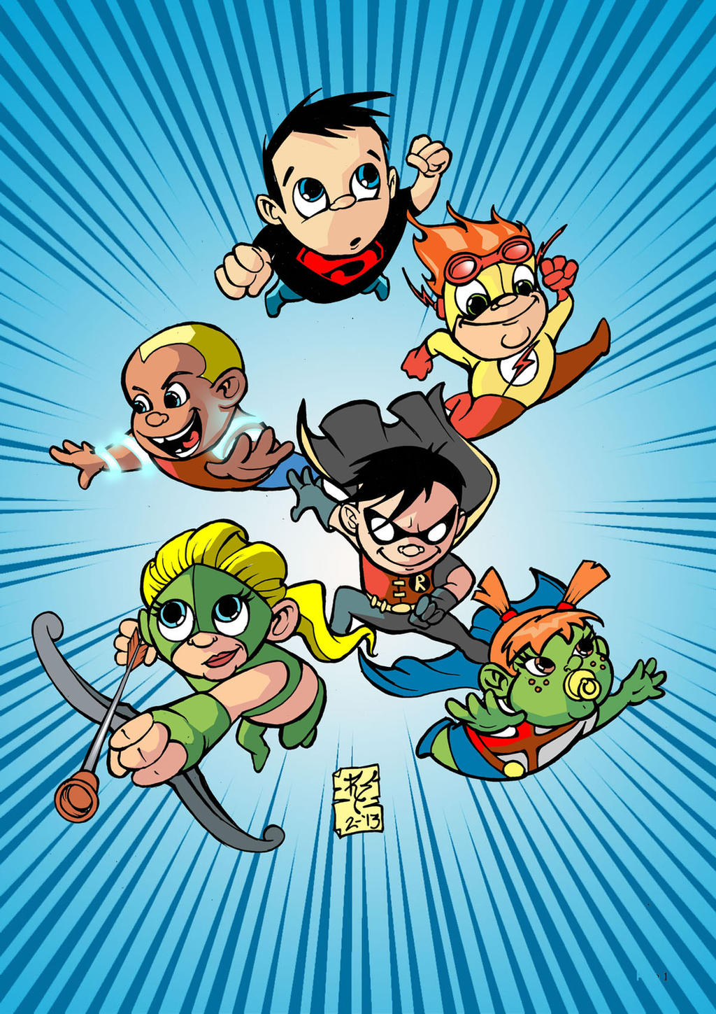 Young Justice Babies