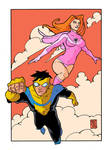Invincible And Atom Eve Color2
