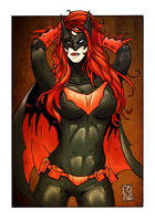 BATWOMAN COLOR VERSION 1 by WILLEYWORKS