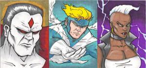 Xmen sketch cards