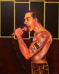 HENRY ROLLINS by WILLEYWORKS