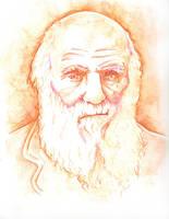Charles Darwin by WILLEYWORKS