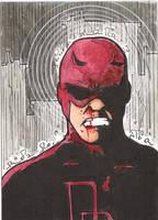 Daredevil SKETCH CARD by WILLEYWORKS