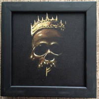 THE GOOD KINGS CROWN MINI PAINTING by WILLEYWORKS