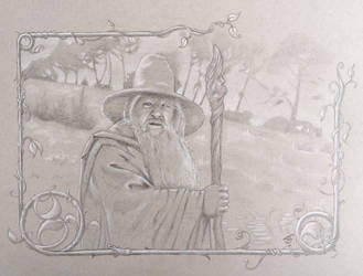 Gandalf by WILLEYWORKS