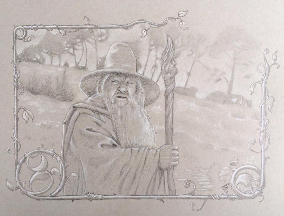 Gandalf by WILLEYWORKS