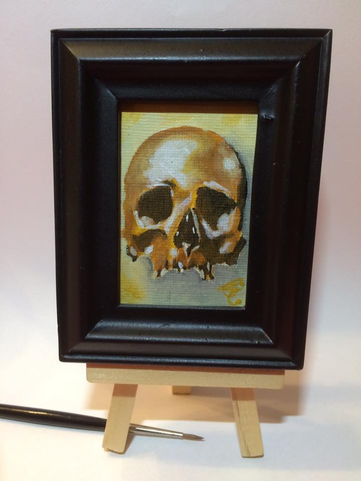 MINI PAINTING by WILLEYWORKS